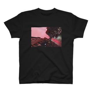 pink na yoru T-shirts