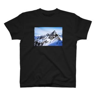 Snowy Mountain Photo & Scorpius  T-shirts