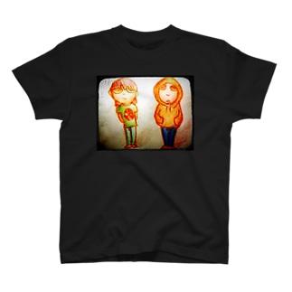 ぶらざー T-shirts