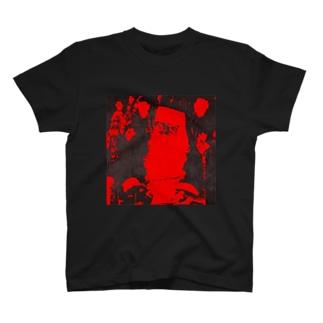 ブラックサンタクロース T-shirts