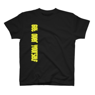 Get over youself(まず自分を乗り越えよう) T-shirts
