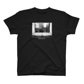 マイクスタンドのマイキー 《モノクロ》 T-shirts