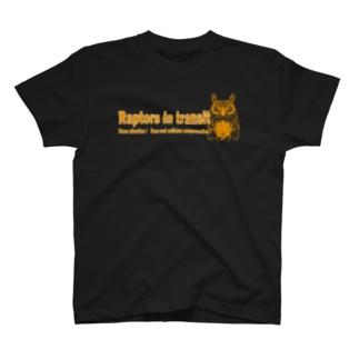 Raptors in transit T-shirts