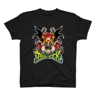DEVIL ROCK T-shirts