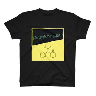 メチルフェニデート(コンサータ18mg ver) T-shirts