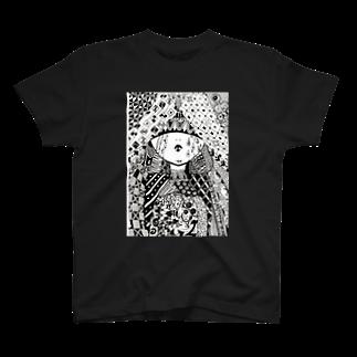 OMENYAのゼンタングル(女の子) T-shirts
