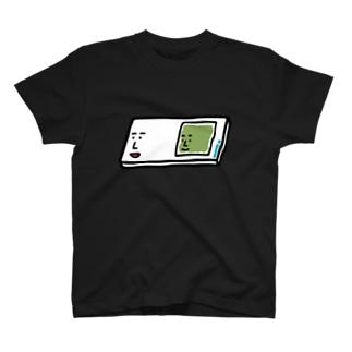 うえたに夫婦のキャラNo.57プレパラートくん(スライドガラスとカバーガラスくん) T-Shirt