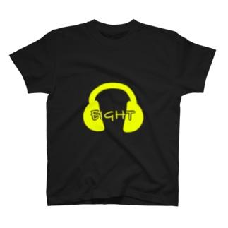 EIGHTヘッドホン T-shirts