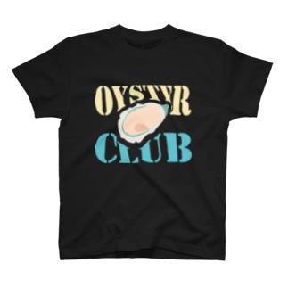 牡蠣大好きっ子クラブ T-shirts