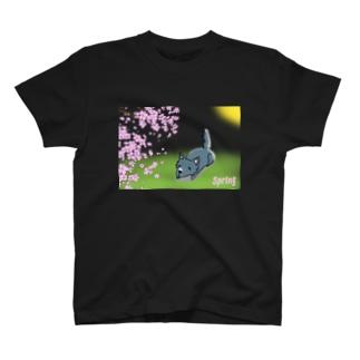 ぽっかぽか日向ぼっこ T-shirts