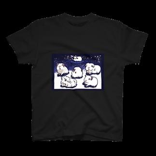 Lichtmuhleの楽しい雪の日と雪ん子モルモット T-shirts