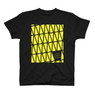 TDS モノグラム蛍光イエロー ご祝儀 T-shirts