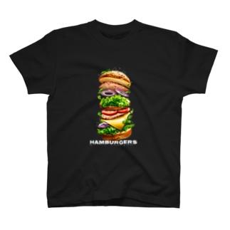 hamburgers T-shirts