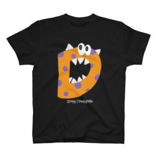 Alphabet Monster 【D】 T-shirts