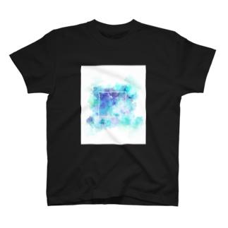 碧が溢れる T-shirts