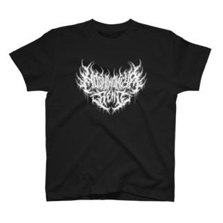 星ノ宮れの ロゴ(白) T-shirts