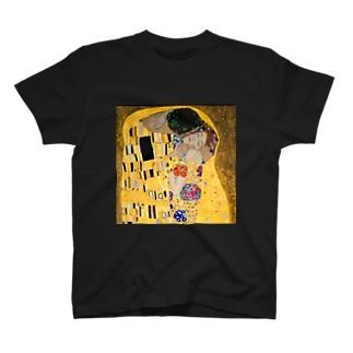 グスタフ・クリムト『 接吻(The Kiss) 』2 T-shirts