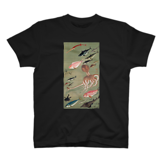 dohshinの伊藤若冲『 群魚図 』 T-shirts