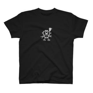 ウルトラポンコツ君(白) T-shirts