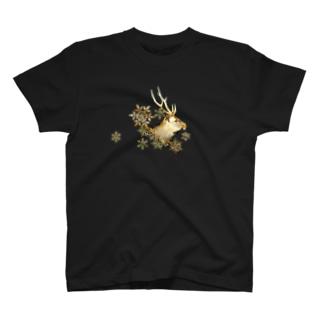 牡鹿横顔 T-shirts