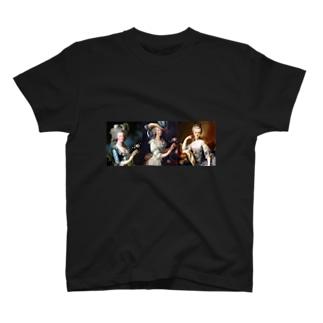 王妃 マリー・アントワネット T-shirts
