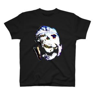 あみぐるみ頭蓋骨 T-shirts