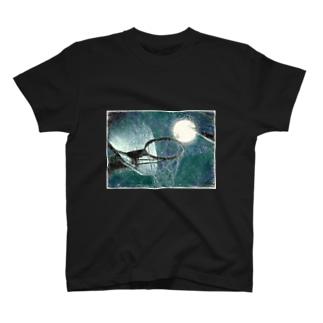 満月ノ夜ニ T-shirts