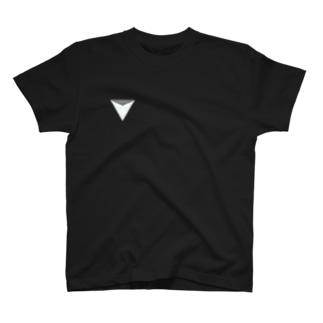 白マークTシャツ T-shirts