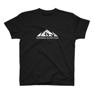 モダンサバイバー(BLACK)  T-shirts