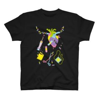 病みカワイイ-夢見る心臓 T-shirts