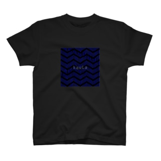 kuula_zigzag01(Black) T-shirts