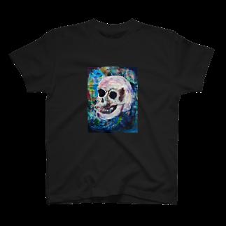 JuRiのskeleton T-shirts