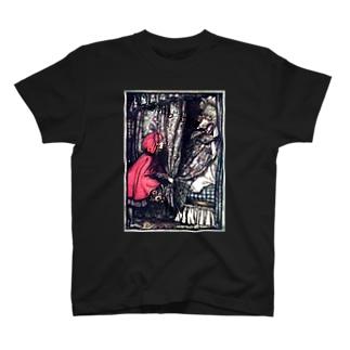 アンティークな赤ずきん T-shirts