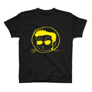 だもTゴールドタイガー T-shirts