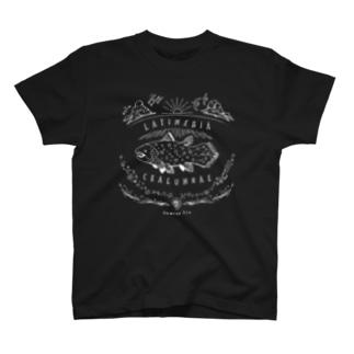(線/白)シーラカンス T-shirts