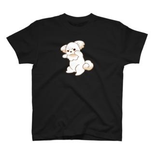 いぬはぴ(大) T-shirts