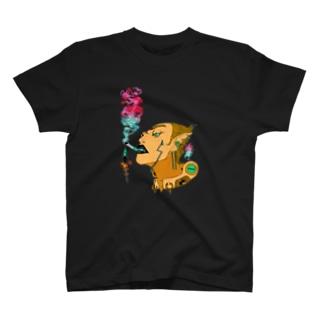 地獄で一服ヲ  《滅》 Tシャツ T-shirts