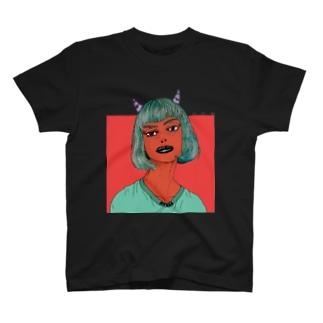 Devil Girl Tシャツ T-shirts