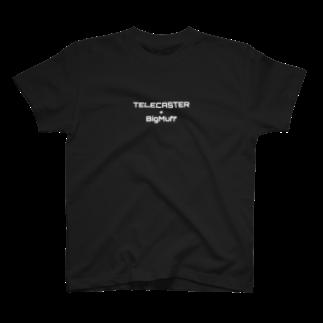 fandalのテレキャスとファズ T-shirts