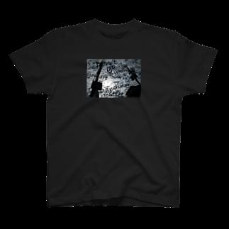 KAZUE_KOBAYASHI_SHOPの【 BUS STOP 】オリジナル・フォト&メッセージ T-shirts