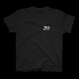 梅雨.2Uの2Uロゴ T-shirts