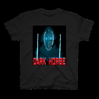 Danke Shoot CoffeeのDark House Player (2P) T-shirts