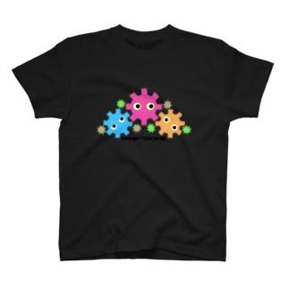 花とキカイ T-shirts