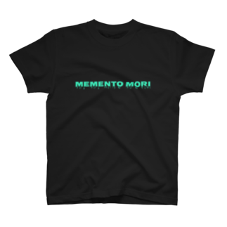 泉沢円香のmemento mori(グリーン) T-shirts