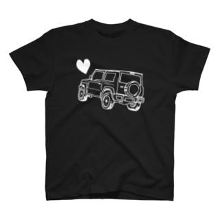 新型ジムニー♡ T-shirts