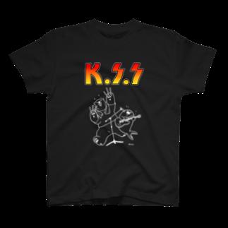 恋するシロクマ公式のTシャツ(ロックA) T-shirts