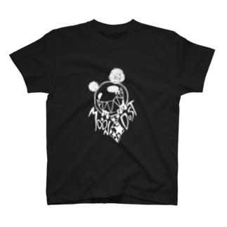 パンダくん(白印刷) T-shirts