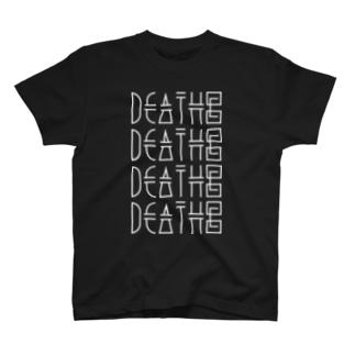 DEATH©のDEATH© / HALF SLEEVE tee T-shirts