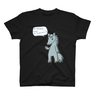 私のハエ叩きがどこにあるのか T-shirts