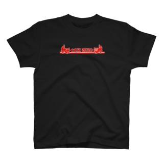 ◀メス オス▶ (両面デザイン) T-shirts